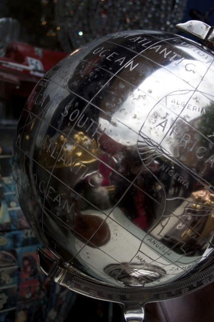 Portobello Market globes for sale