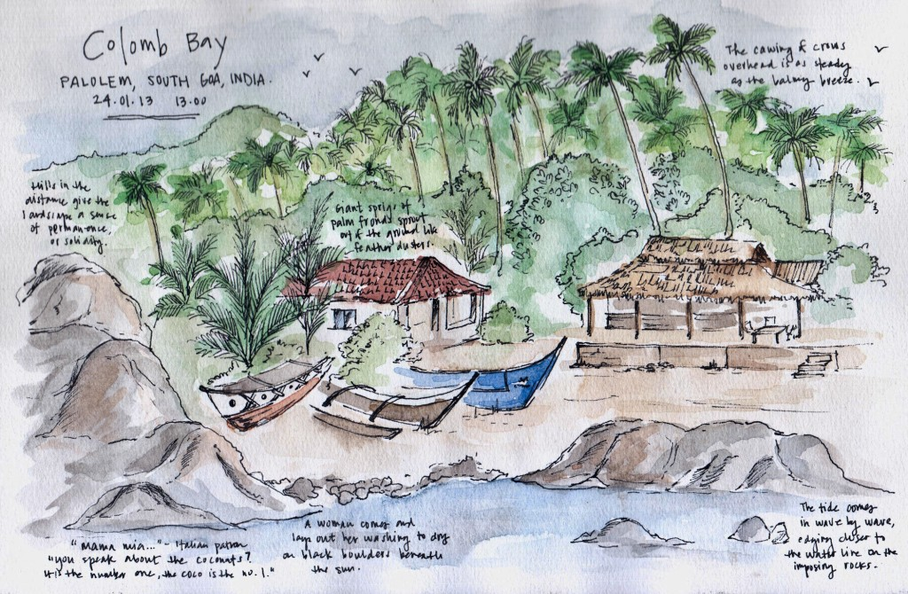 Candace's sketch of Goa
