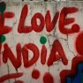 I love India graffiti