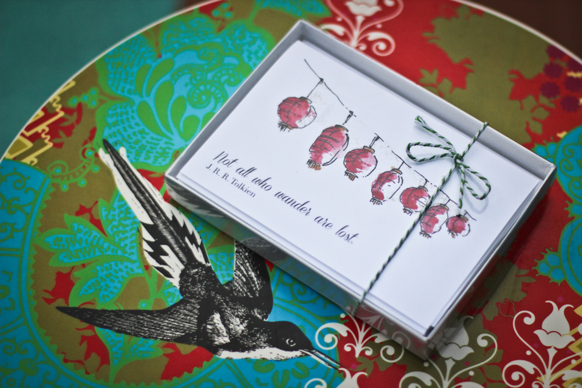 Notecards from Candace Rardon