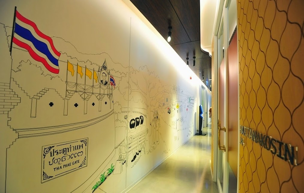 google thailand office. Candace Rose Rardon Thailandinspired Sketch Mural For Google Thailand Office